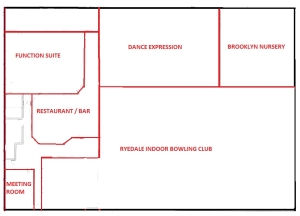 Outline Plan of Ryedale Community and Leisure Centre, Malton